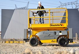 Compact 3368 RT Rough-terrain Scissor Lift
